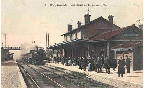 La Gare De Houilles 78800